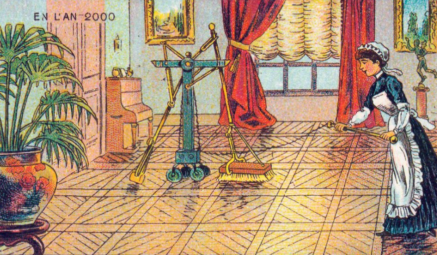 1899 postcard vacuum | From the blog of Nicholas C. Rossis, author of science fiction, the Pearseus epic fantasy series and children's books