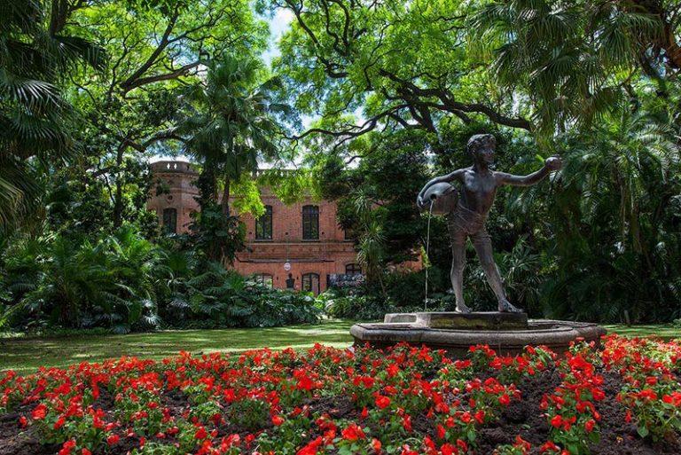 The Botanical Garden entrance in Buenos Aires