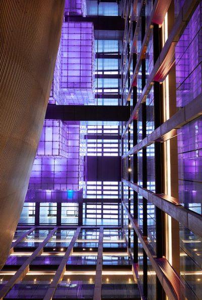 Architettura moderna nel Centro Culturale Kirchner