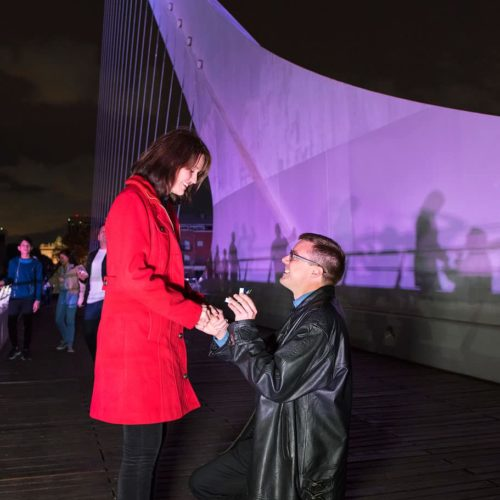 Engagement photo session in Puerto Madero