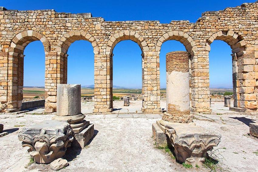 arches in volubilis
