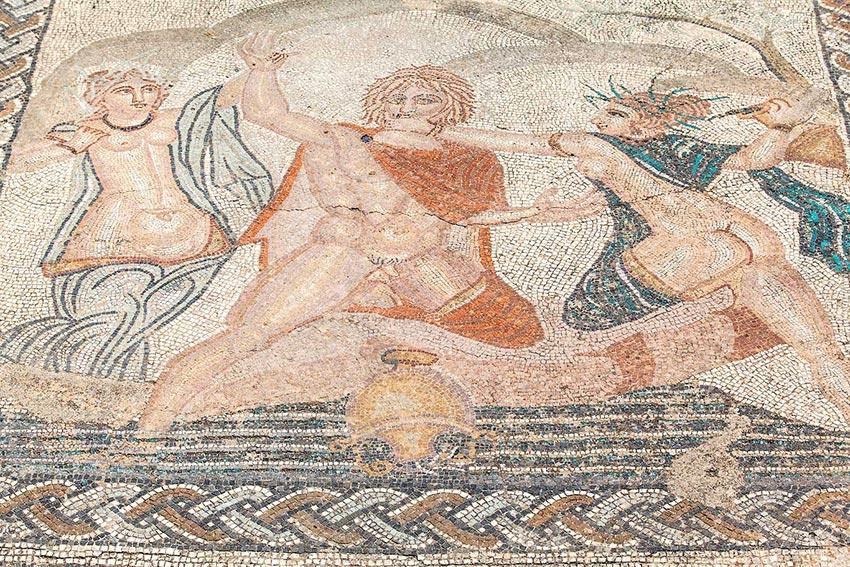 mosaic in volubilis