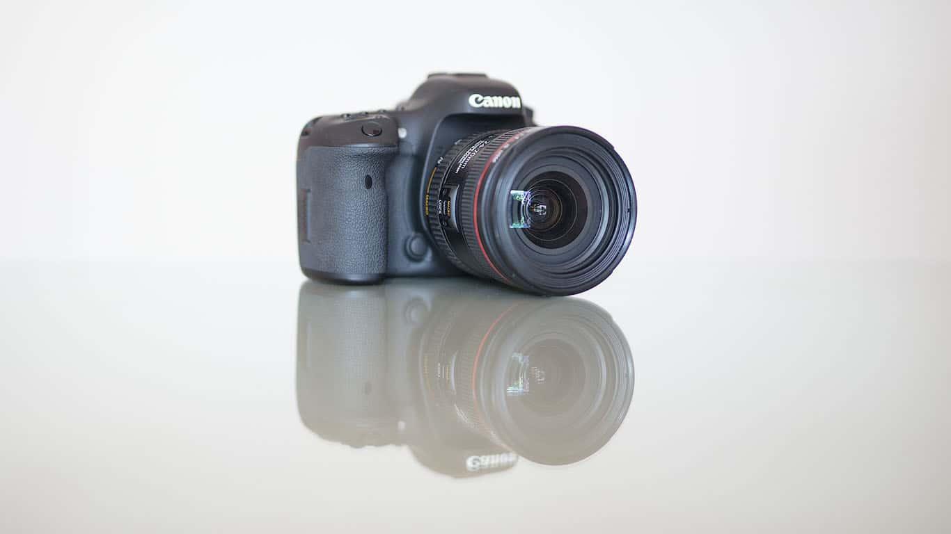 DSLR reflex camera photography