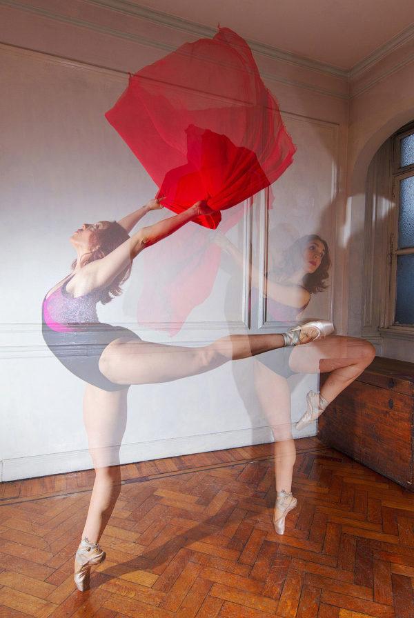 Classical dancer ballet