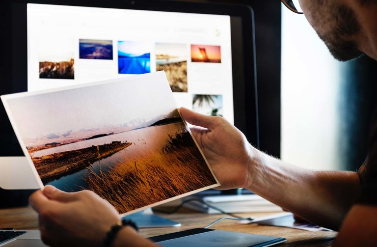 photo prints don't look right