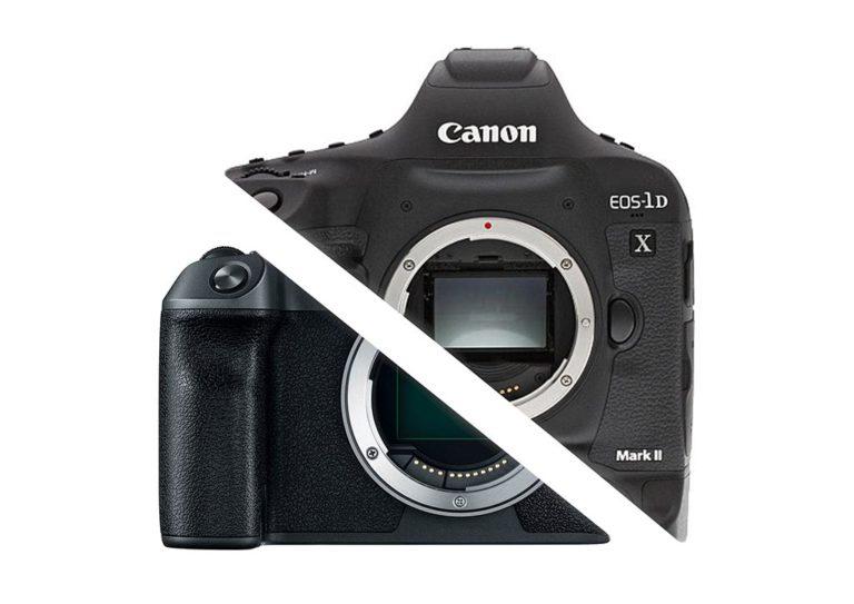 Canon mirrorless reflex WEB