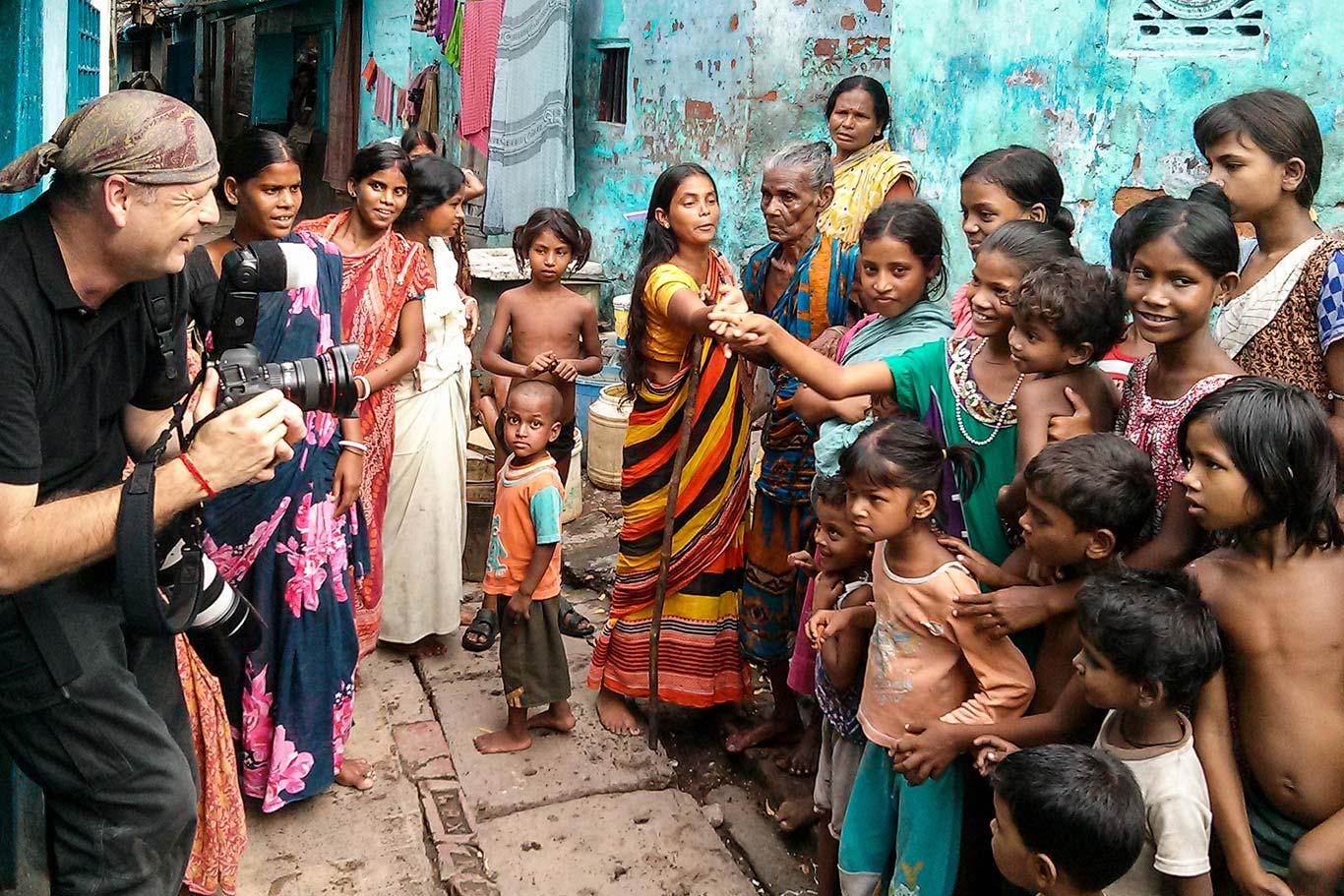 Gavin Gough a Calcutta, India
