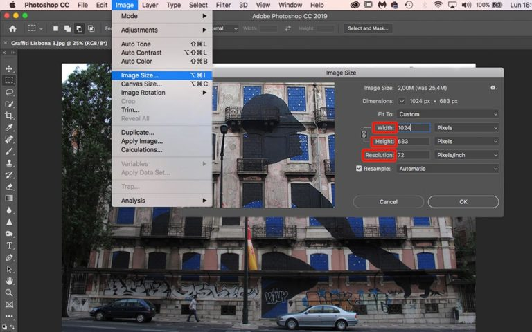 Optimize images for web with Photoshop