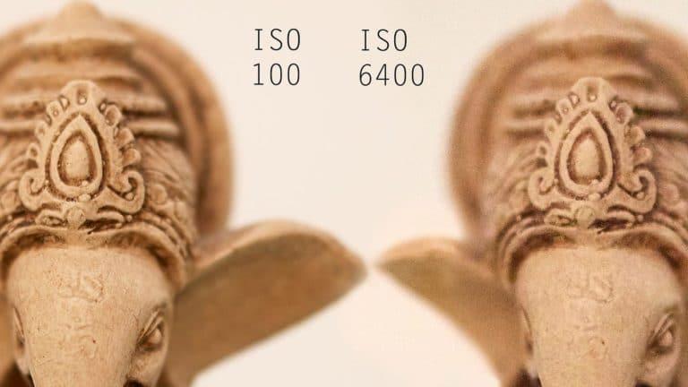 Sensibilidad del sensor ISO