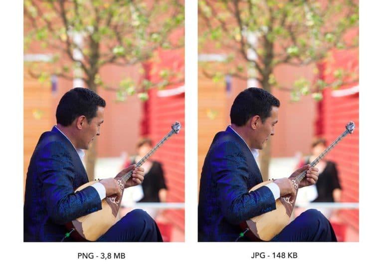 Differenza tra PNG e JPEG