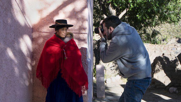 retrato étnico en el norte de Argentina