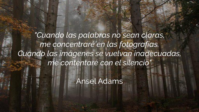 frases fotografia ansel adams