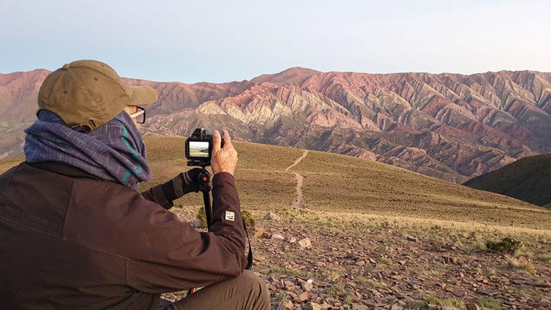 fotografo di viaggi in argentina