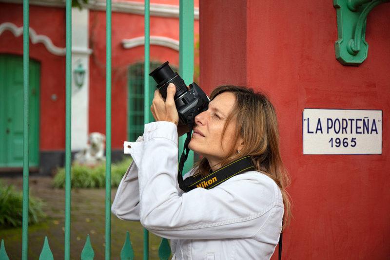 participante workshop fotografia