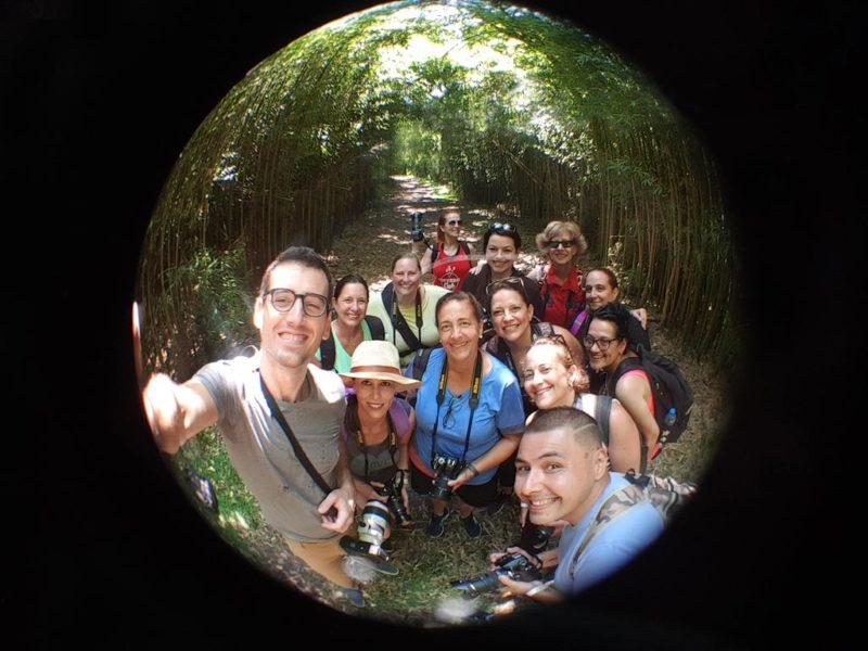 workshop di fotografia di gruppo