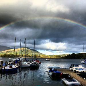 Rainbow over Derwentwater