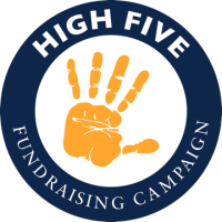High Five Fundraising Campaign Logo