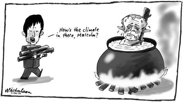 Image result for malcolm turnbull caricatures
