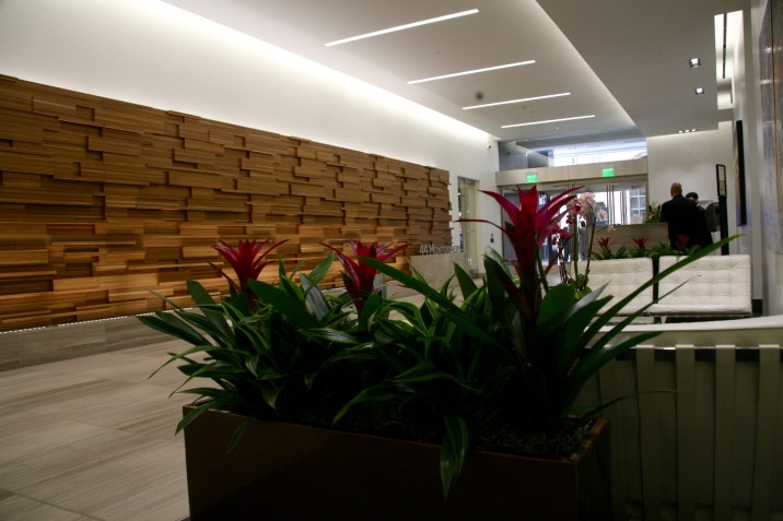 Welcome to our building lobby