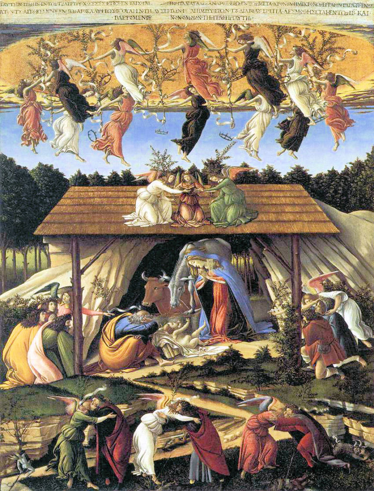 Botticelli: Mystische Geburt Christi