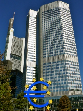 Denkmal für den Euro