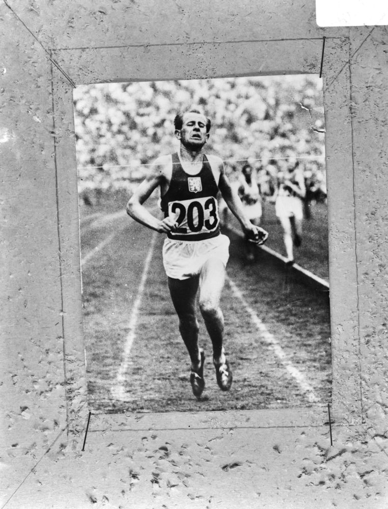 Emiel Zatopek Finish 1968