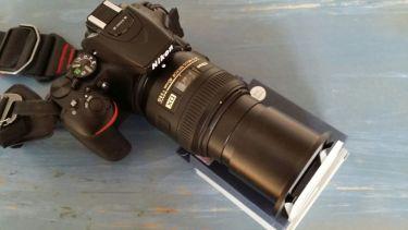 Kamera mit Kopiervorsatz