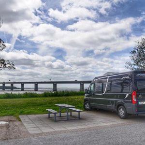 Mit dem #Wohnmobil zum #Nordkap. Tag 2. #Oresundbrücke.