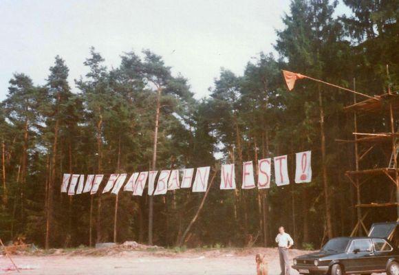 Startbahn West geräumt – Heute vor 36 Jahren