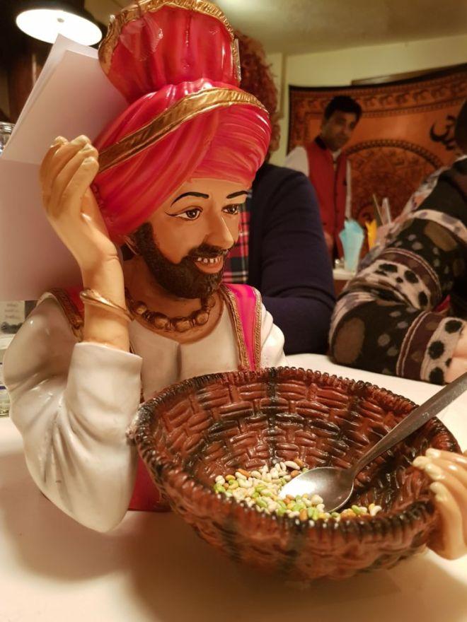Beim Inder