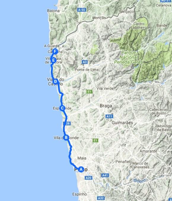 Küstenweg Porto - Caminha