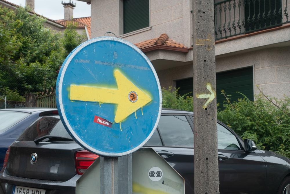 Manchmal findet man auch andere Zeichen