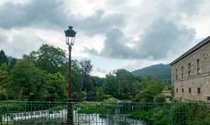 Brücke über den Rio Umia
