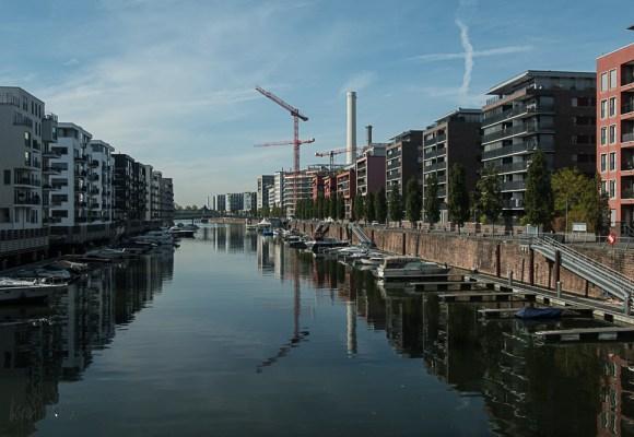 Impressionen vom Westhafen