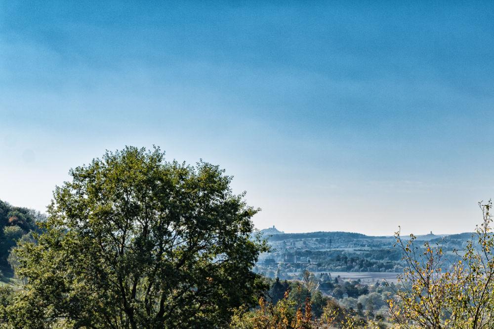 Blick nach Münzenberg