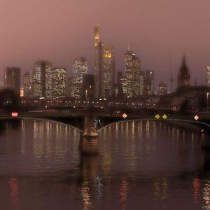 Frankfurt am Abend. #Skyline #Main #Frankfurt