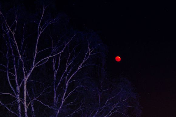Blutmond im Januar