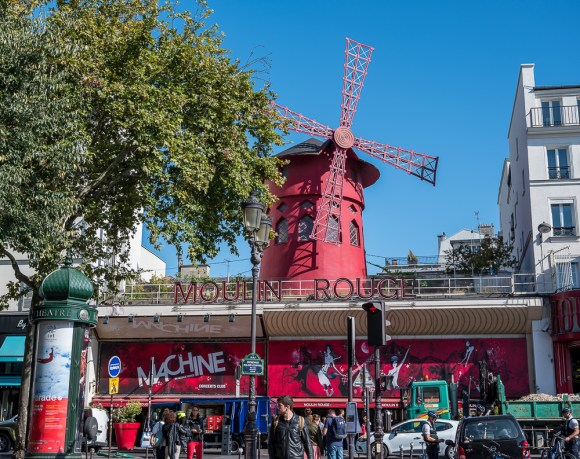 Machine de Moulin Rouge