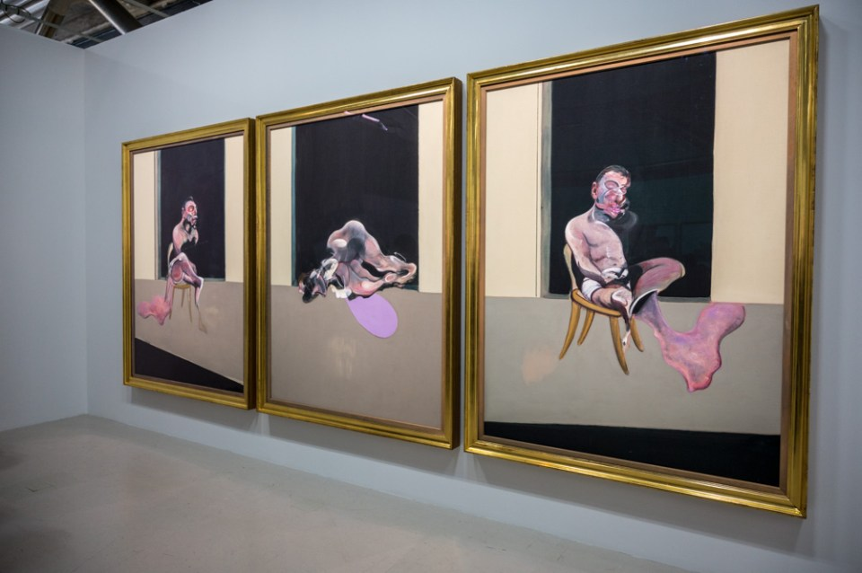 Tryptichon, Francis Bacon