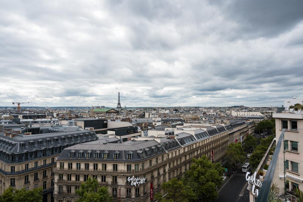 Aussicht von der Dachterrasse
