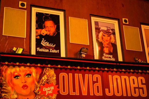 Bei Olivia Jones