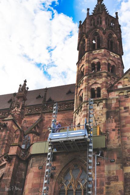 Arbeiten am Münster
