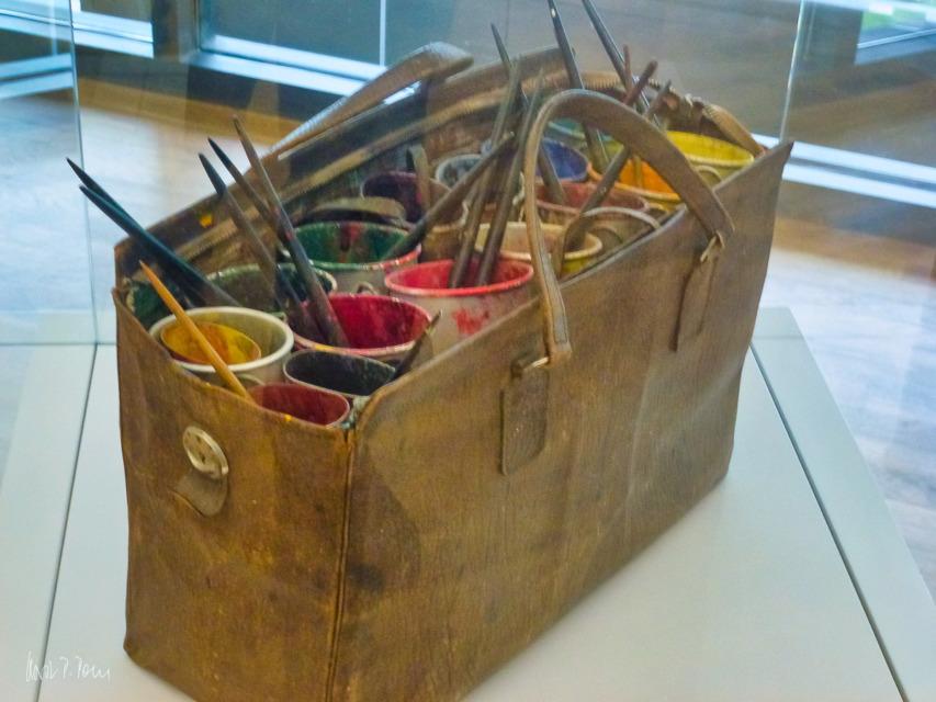 Die Tasche des Künstlers