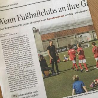Zeitungsartikel.