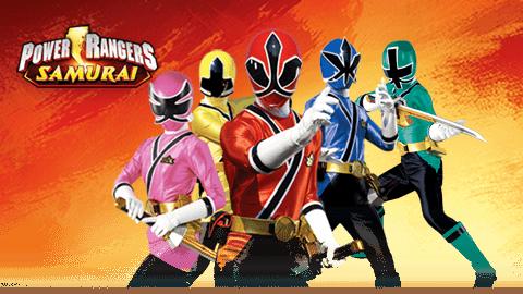 Afbeeldingsresultaat voor power rangers samurai