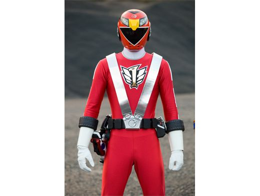 The RPM Ranger comes from a city so tortured by villains that they had to build a dome to keep them out.