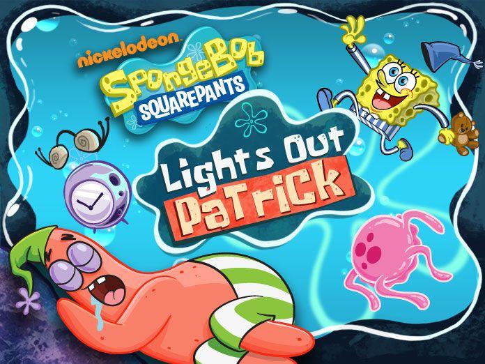 Spongebob Squarepants Lights Out Patrick