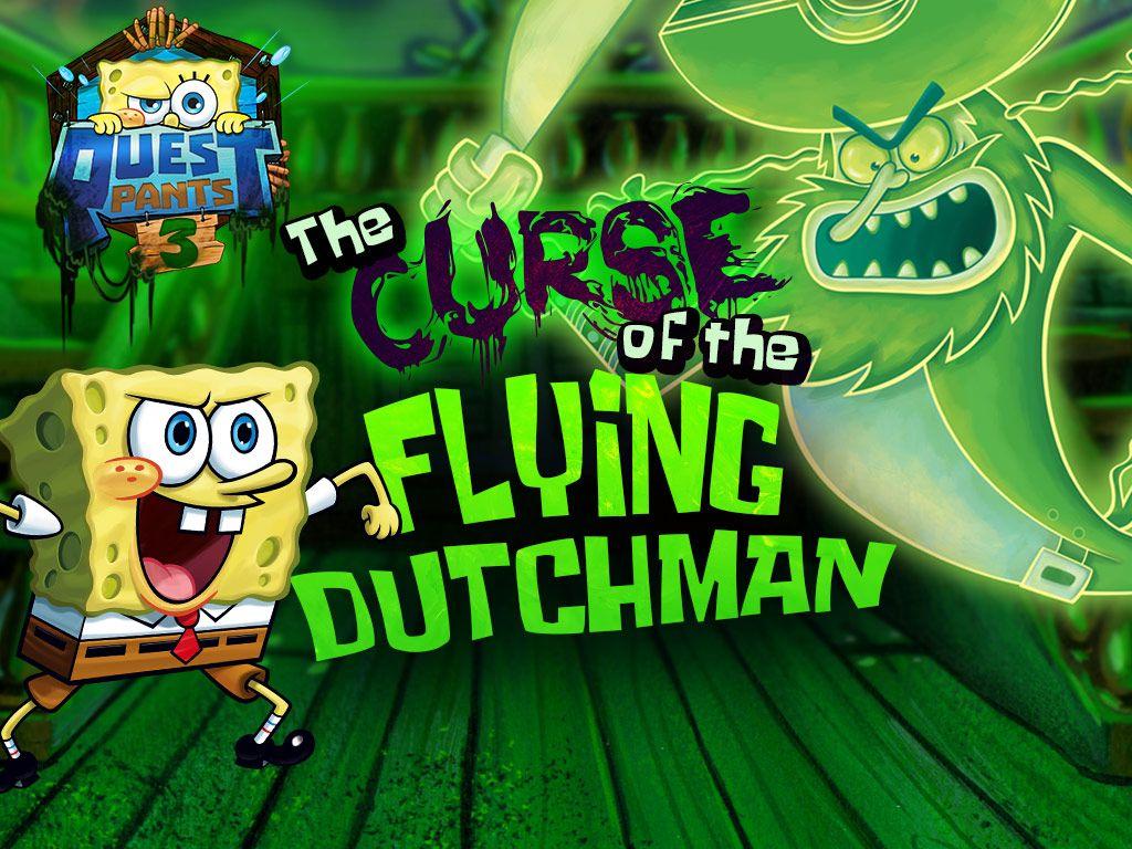 Spongebob Squarepants Questpants 3 The Curse Of The