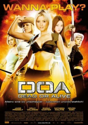 DOA German movie poster