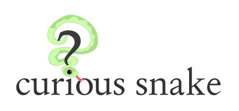 curious_snake_logo